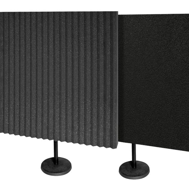 acoustic panel and foam