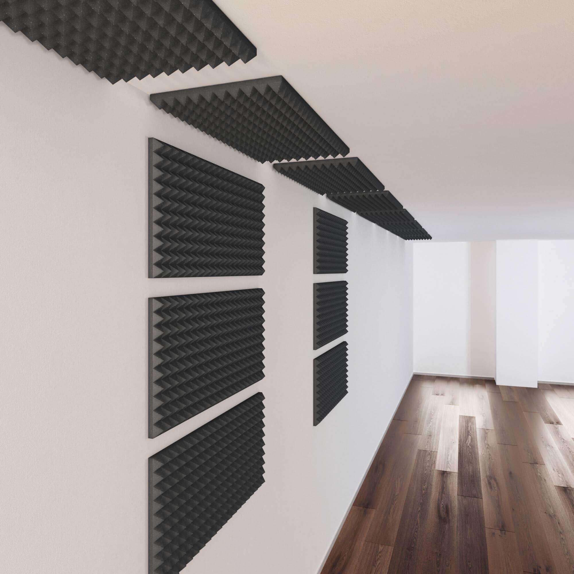 acoustic foam room