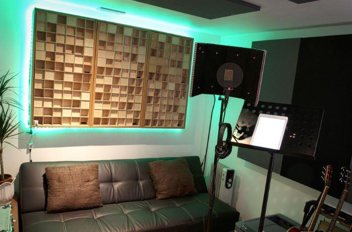 diffusor in studio