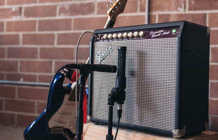 guitar amp record