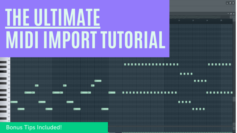 Import MIDI To FL STUDIO